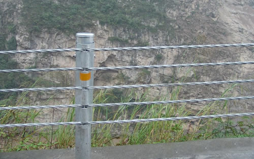 Steel Strand Wire Cable Guardrails