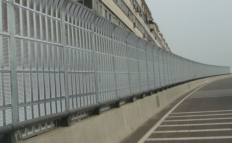 Highway Sound Barrier Perforated Metal Panels For Sound