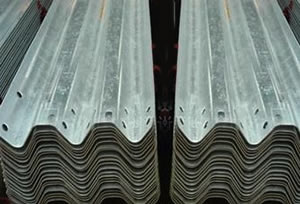 Hot Dipped Galvanized Thrie or Three Beam Highway Barriers
